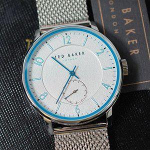 Ted Baker London Men's Stainless Steel Mesh Watch
